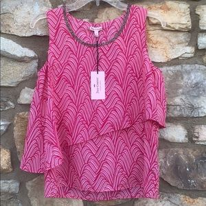 Juicy Couture Pink Top - Small